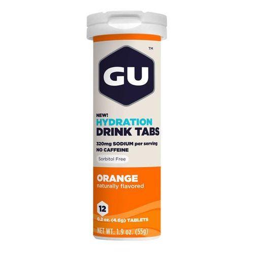 GU Energy Brew Hydration Żywność dla sportowców pomarańcza 12 sztuk pomarańczowy/biały 2018 Napoje izotoniczne i inne (0769493501592)