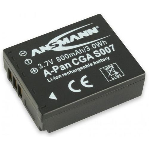 Ansmann Akumulator do panasonic a-pan cga s007 (800 mah) (4013674229635)