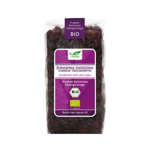Bio planet 400g żurawina słodzona cukrem trzcinowym bio