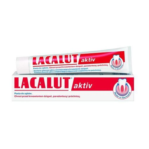 Lacalut Aktiv pasta do zębów 75ml, 3844