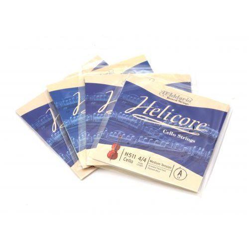helicore h-510 struny wiolonczelowe marki D′addario