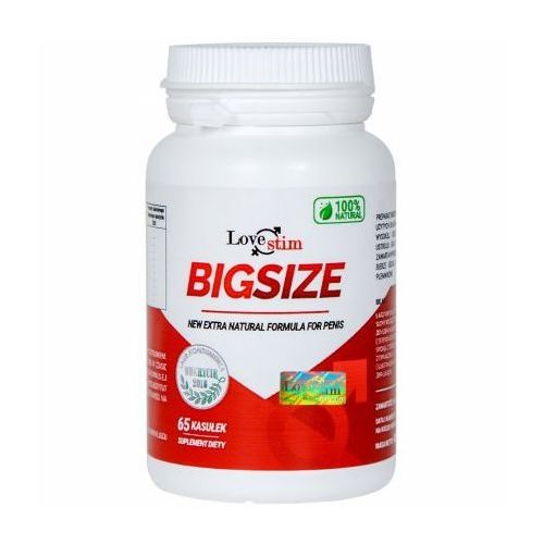 BigSize POWIĘKSZENIE PENISA 65 kaps. BigSize 65 kaps. 070516