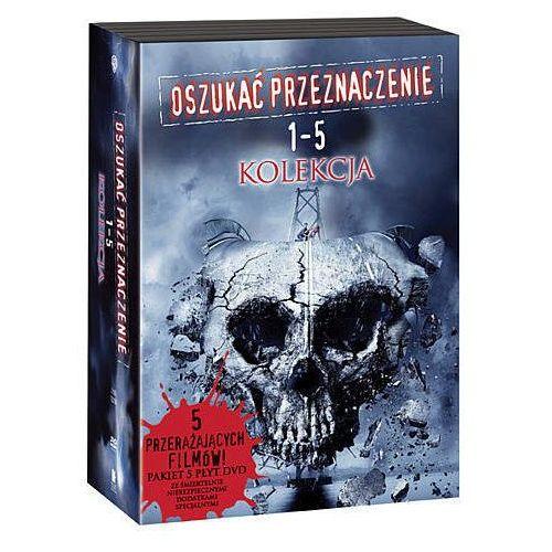 Galapagos films Oszukać przeznaczenie - pakiet filmów 1-5 (5 dvd) 7321909087002 (7321909087002)