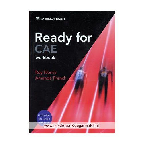 Ready for CAE Workbook without key Macmillan, oprawa miękka