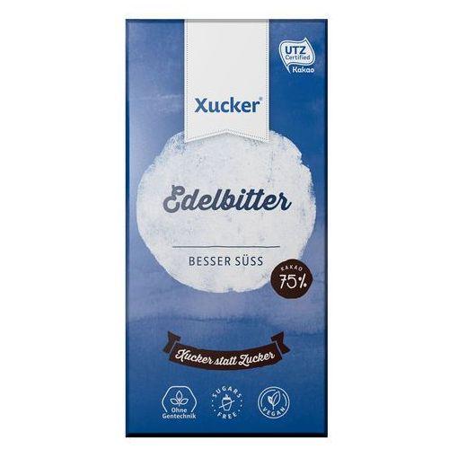 Czekolada gorzka 75% kakao z ksylitolem bez dodatku cukru Xucker 100g
