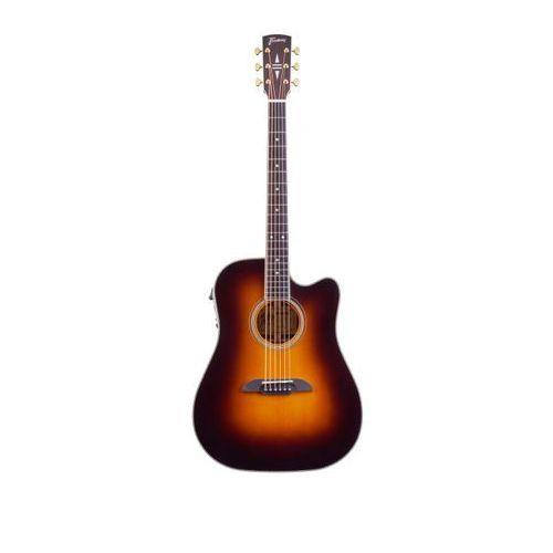fd28 n, nashville dreadnought, cutaway, eq, vintage transparent sunburst high polish gitara elektroakustyczna marki Framus