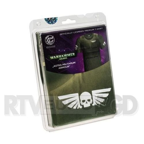 Good Loot Koszulka WH40K - Astra Militarum Armour - rozmiar XL - produkt w magazynie - szybka wysyłka! (5908305214014)