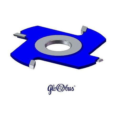 GLOBUS Frez prosty z nacinakiem z płytkami HSS Z=2 N=2 180x30x12 CL021-0180-0004 - produkt z kategorii- frezy
