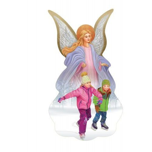 Anioł Stróż z dziećmi