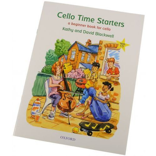 Pwm blackwell kathy, david - cello time starters (utwory na wiolonczelę + cd)