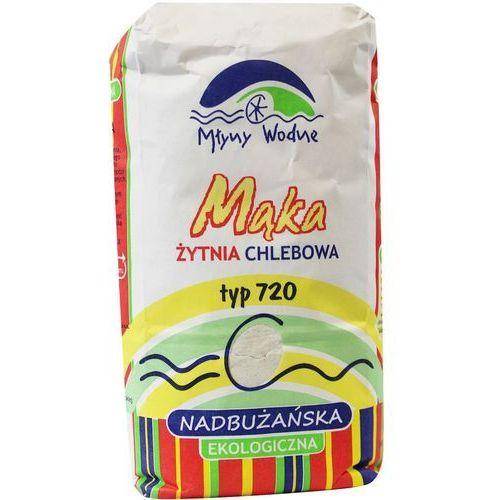 Eko mega : mąka żytnia chlebowa typ 720 bio - 1 kg (5907690790257)
