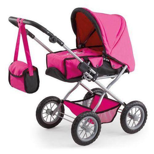 Bayer Design Wózek dla lalek Kombi Grande, różowy/czarny - oferta [2503d6a59fd325be]