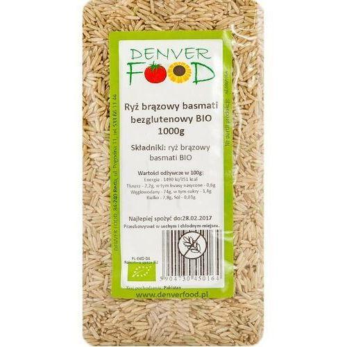 Denver food ul. pogodna 11, 84-240 reda, polska dystrybutor: denver fo Ryż basmati brązowy bezglutenowy bio 1 kg denver food (5904730450164)