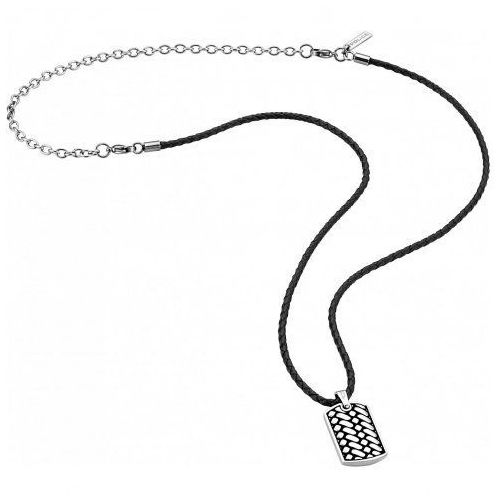 Police Biżuteria - pj.26179pls/01 - naszyjnik double impact pj26179 (2000010482528)