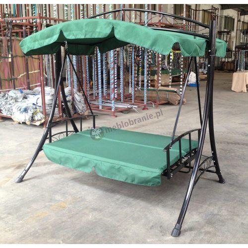 Rozkładana huśtawka ogrodowa zielona GGMI, produkt marki Globis