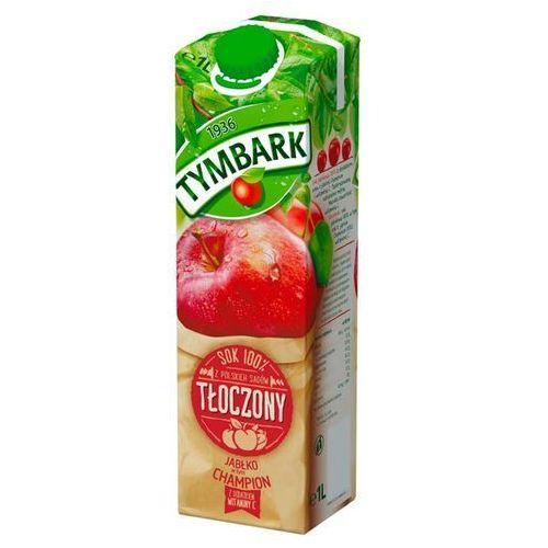 Tymbark 1l sok 100% tłoczony z jabłek champion (5900334009920)