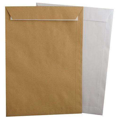 Koperty B4 (250x353 mm) białe HK z paskiem - 50 sztuk (koszulka , teczka , koperta)