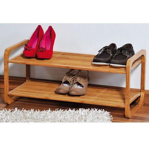 Szafka na buty z certyfikowanego bambusa, regał na buty, szafka na buty do przedpokoju, komoda na buty, drewniana szafka na buty, marki Kesper