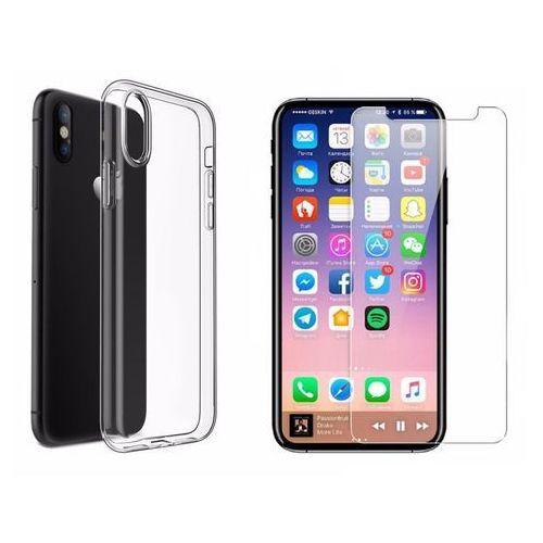 Ultra slim / perfect glass Zestaw | ultra slim przezroczysty | | obudowa + szkło ochronne perfect glass dla modelu apple iphone x / 10