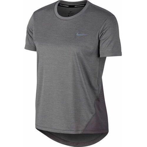 Koszulka damska Nike W Miler Top SS szara AJ8121 05- Zamów do 16:00, wysyłka kurierem tego samego dnia!