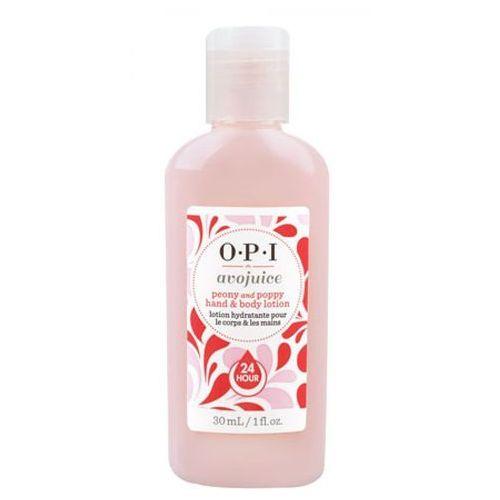 avojuice peony & poppy hand & body lotion balsam do dłoni i ciała - peonia i mak (28 ml) marki Opi