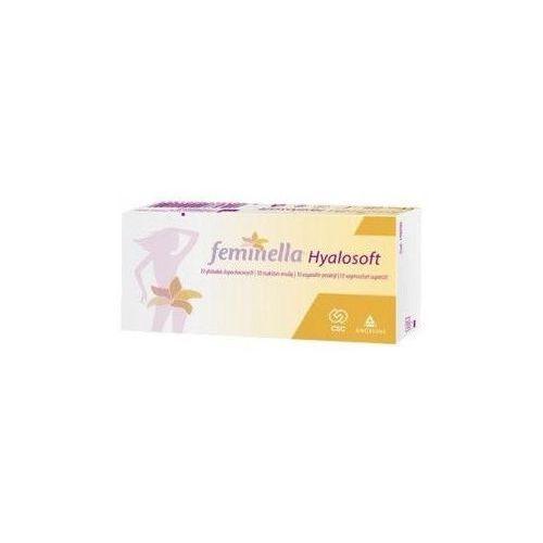 FEMINELLA Hyalosoft x 10 globulek - produkt z kategorii- Pozostałe zdrowie