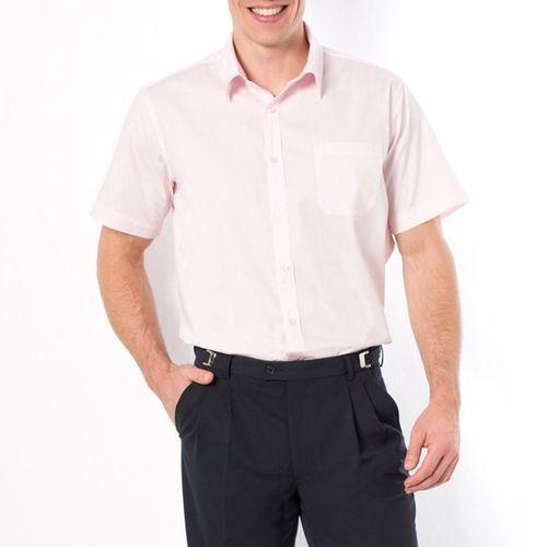 Popelinowa koszula z krótkim rękawem, rozmiar 1 i 2 - sprawdź w La Redoute