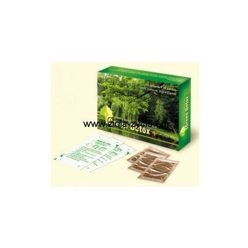 Plaster GREEN DETOX+ - spektakularne plastry oczyszczające organizm z toksyn - NATURGREEN