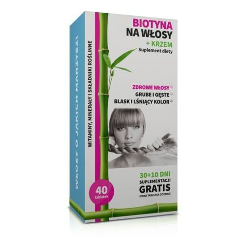 Noble health Biotyna na włosy + krzem