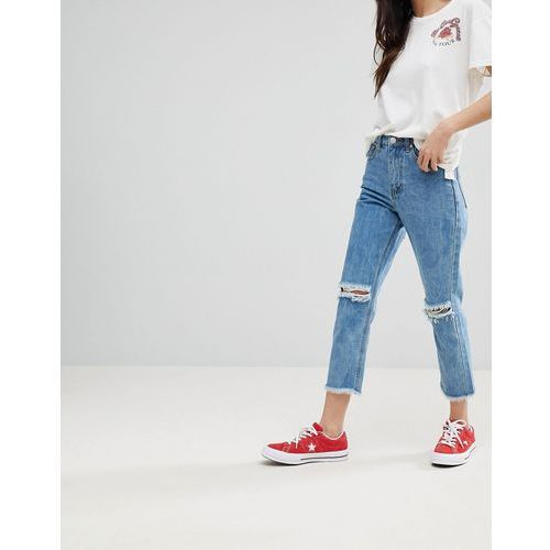 Glamorous Boyfriend Jeans - Blue, 1 rozmiar