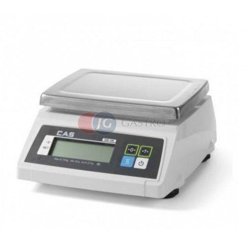 Waga kuchenna 30 kg/5 g LCD wodoodporna z legalizacją 580387, 580387