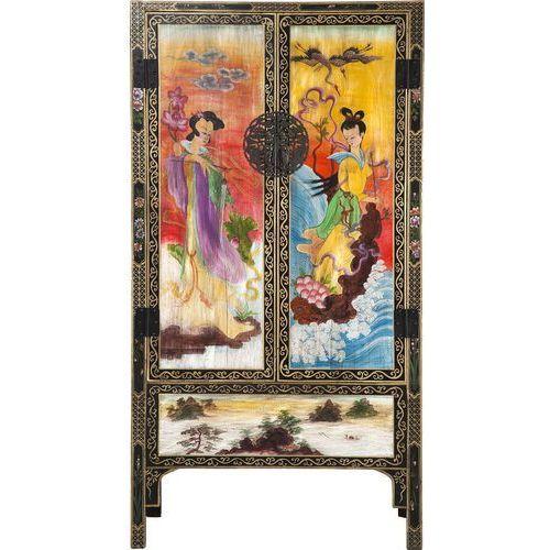 Chinese Wedding Szafa Drewniana Uchwyty Miedź - 78693, Kare Design