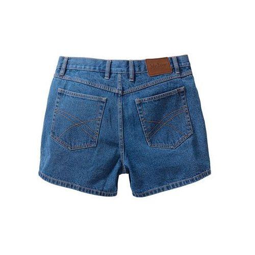 Szorty dżinsowe bonprix niebieski, kolor niebieski