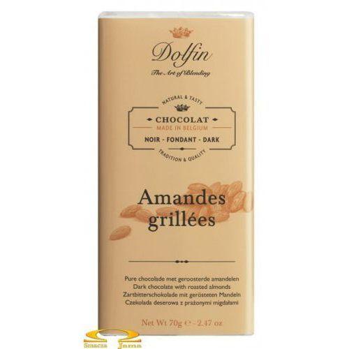 Czekolada dolfin z prażonymi migdałami (deserowa) 70g marki Dolfin the art of blending
