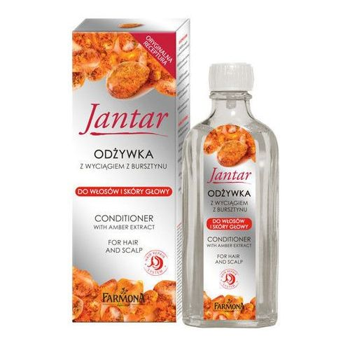 jantar jantar odżywka do włosów i skóry głowy (with amber extract) 100 ml marki Farmona