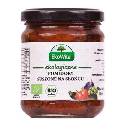 Pomidory suszone na słońcu w oleju BIO 180 g EkoWital (5908249971356)