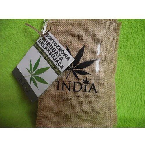 India Cosmetics- Goryczkowa Herbata Relaksująca z konopi