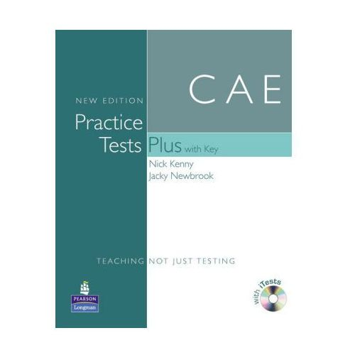 CAE Practice Tests Plus New Edition with Key plus iTest CD-ROM plus Audio CD (9781405881197)
