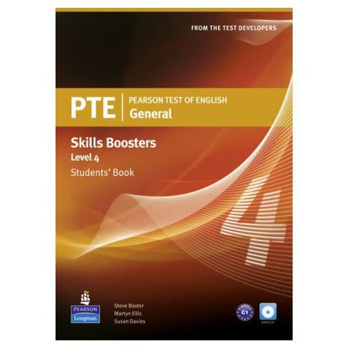 PTE General Skills Booster 4. Podręcznik + CD (9781408267844)