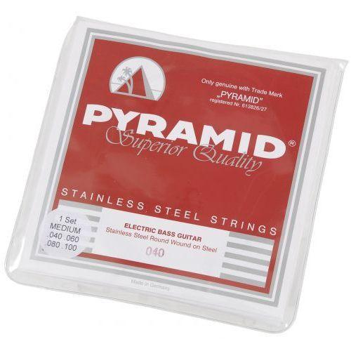 828 stainless steels struny do gitary basowej 40-100 - wyprzedaż marki Pyramid
