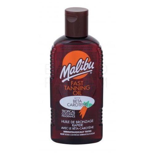 Malibu Fast Tanning Oil preparat do opalania ciała 200 ml dla kobiet (5025135114663)