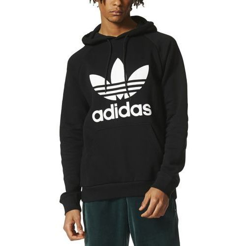 adidas Originals TREFOIL Bluza z kapturem black (4058027162788)