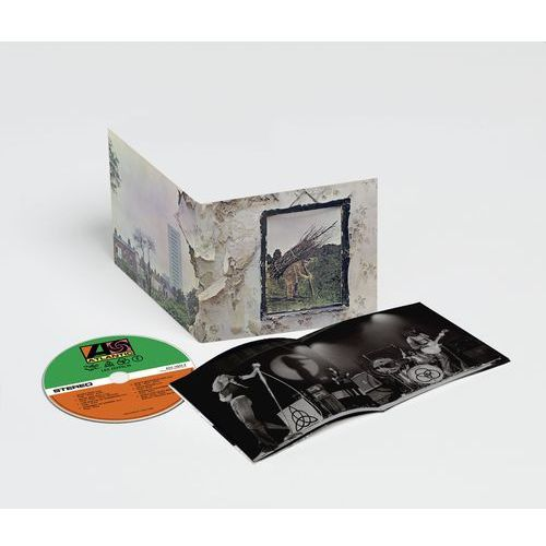 Warner music Led zeppelin - led zeppelin iv (remastered) (0081227964481)