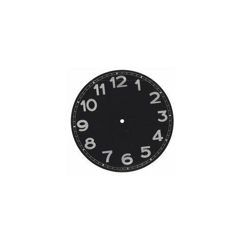 Aluminiowa tarcza zegarowa czarna 274 mm, TA_5017