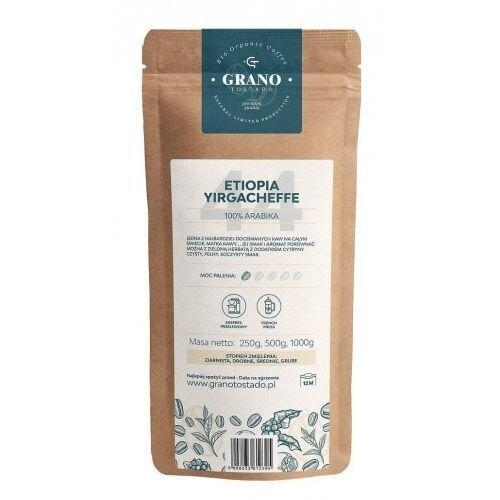 Grano tostado kawa ziarnista grano tostado etiopia yirgacheffe 500g