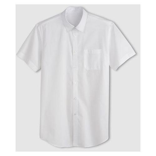 Koszula z krótkimi rękawami z popeliny, rozmiar 1 + 2