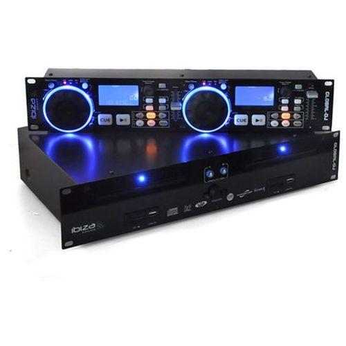 Global DJ podwójny odtw.CD 2x USB 2x SD MP3 scratch
