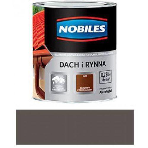 NOBILES DACH I RYNNA-Brązowy czekoladowy-10L (rynna) od 7i9.pl Wszystko  Dla Domu
