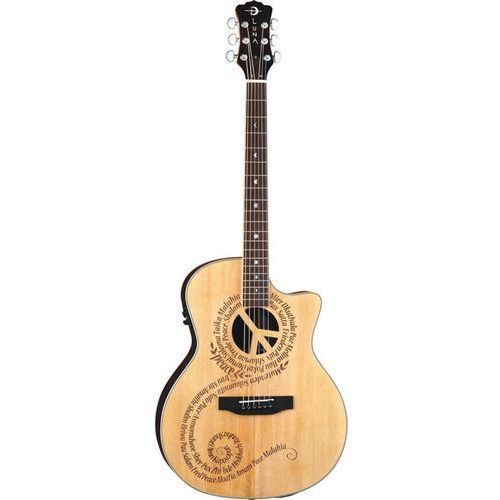 Luna Oracle Grand Concert Peace gitara elektroakustyczna (0819998134280)