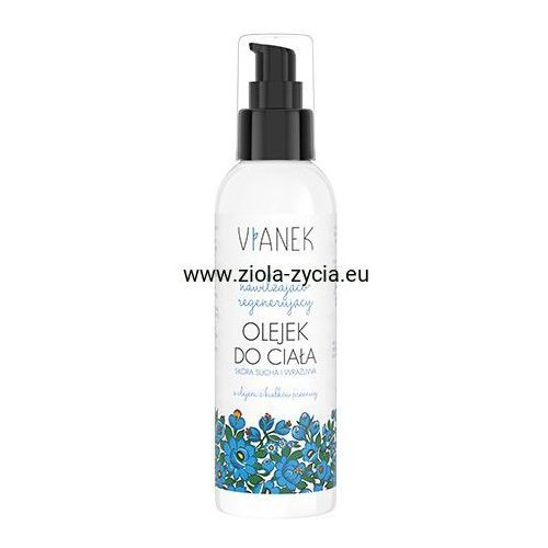 Nawilżająco-regenerujący olejek do ciała - marki Vianek